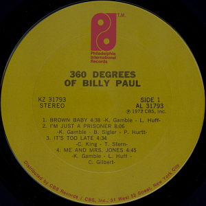billypaul360degreeslabel1