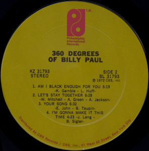 billypaul360degreeslabel2