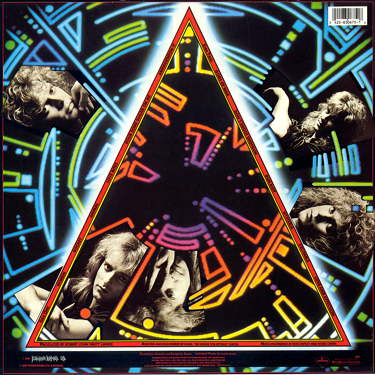 a review of def leppards album hysteria Hysteria (def leppard album)'s wiki: hysteria is the fourth studio album by english hard rock band def leppard, released on 3 august 1987 through mercury records and reissued on 1 january 2000.