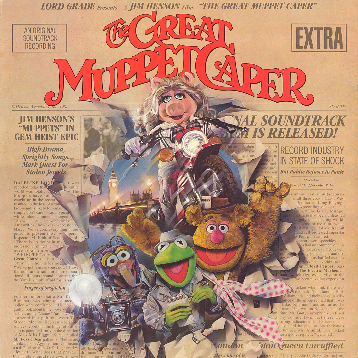 The Great Muppet Caper Vinyl The Muppets The Great Muppet