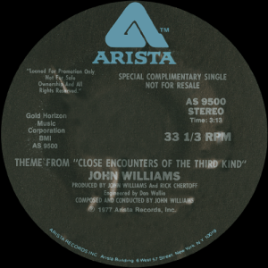 closeencountersofthethirdkindsoundtracksingle