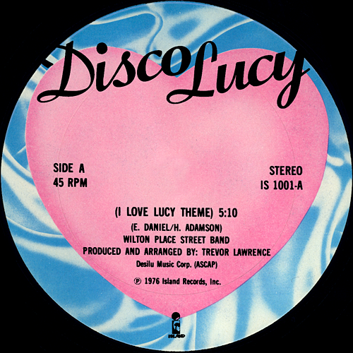 Wilton Place Street Band I Love Lucy Theme Disco Lucy