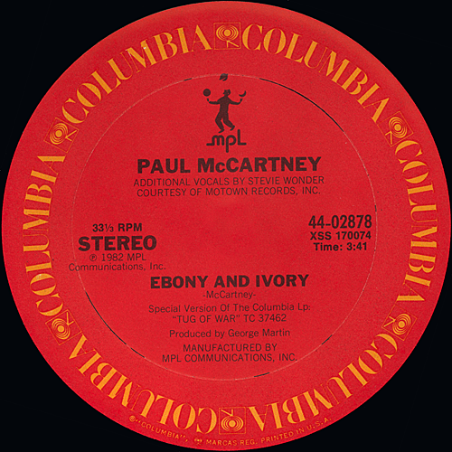 Stevie wonder ebony & ivory