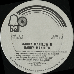 barrymanilowIIlabel3