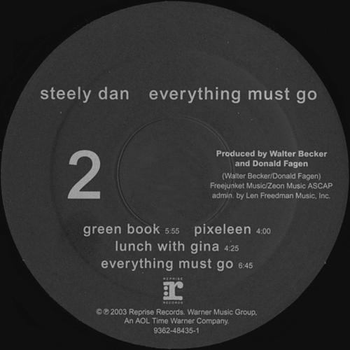 Steely Dan Everything Must Go German Press Vinyl