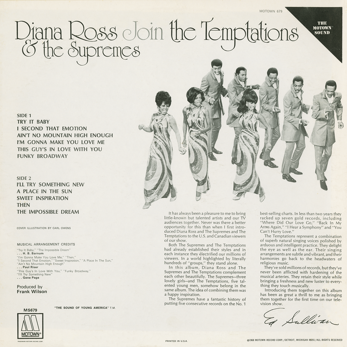 Diana Ross Amp The Supremes And The Temptations Diana Ross