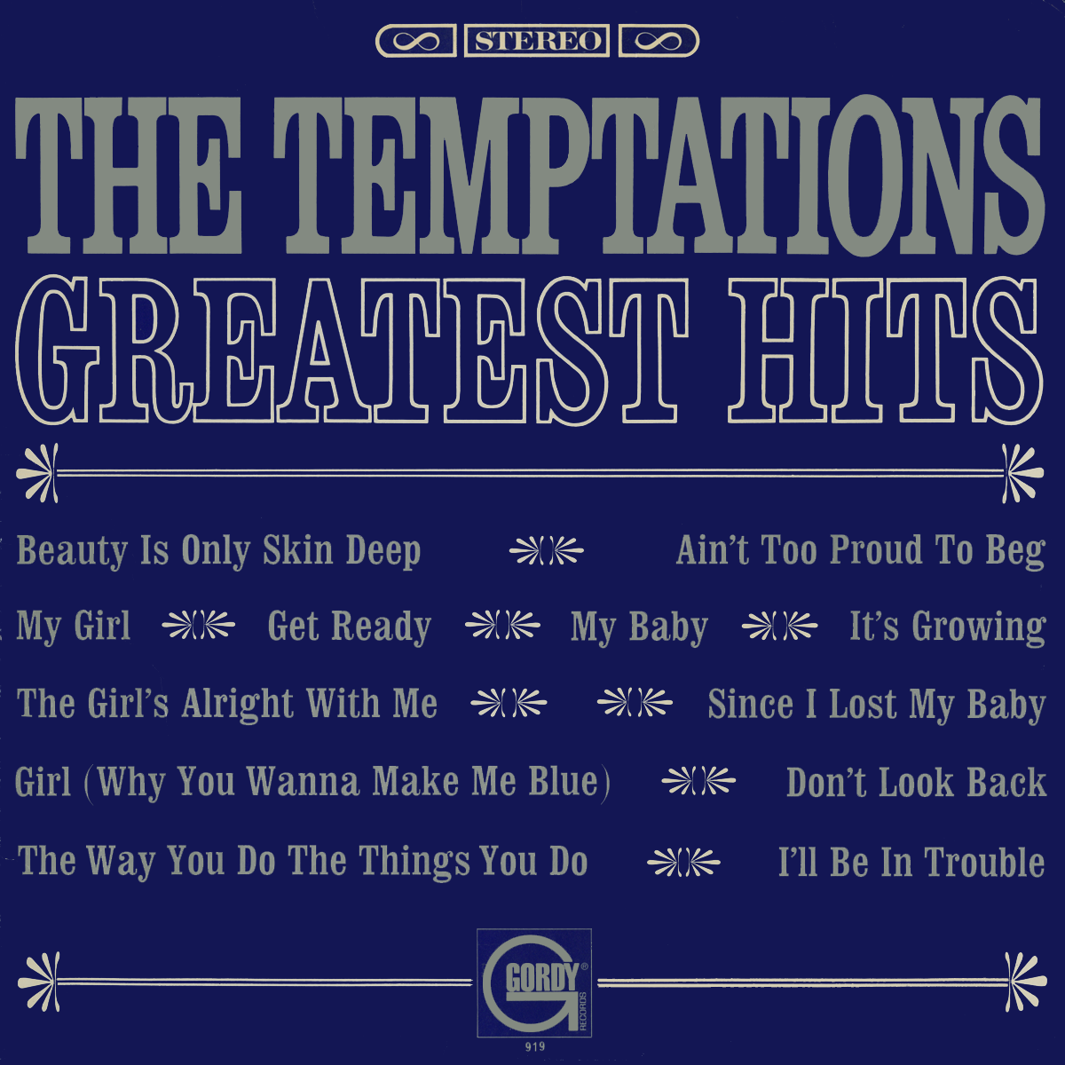 The Temptations Greatest Hits Vinyl Album Covers Com
