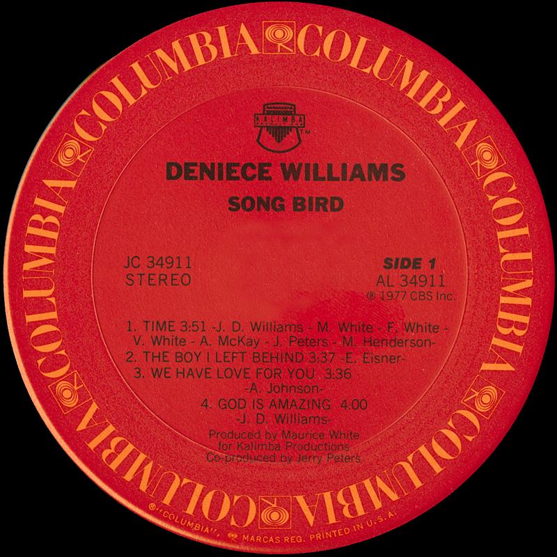 Deniece Williams Songbird