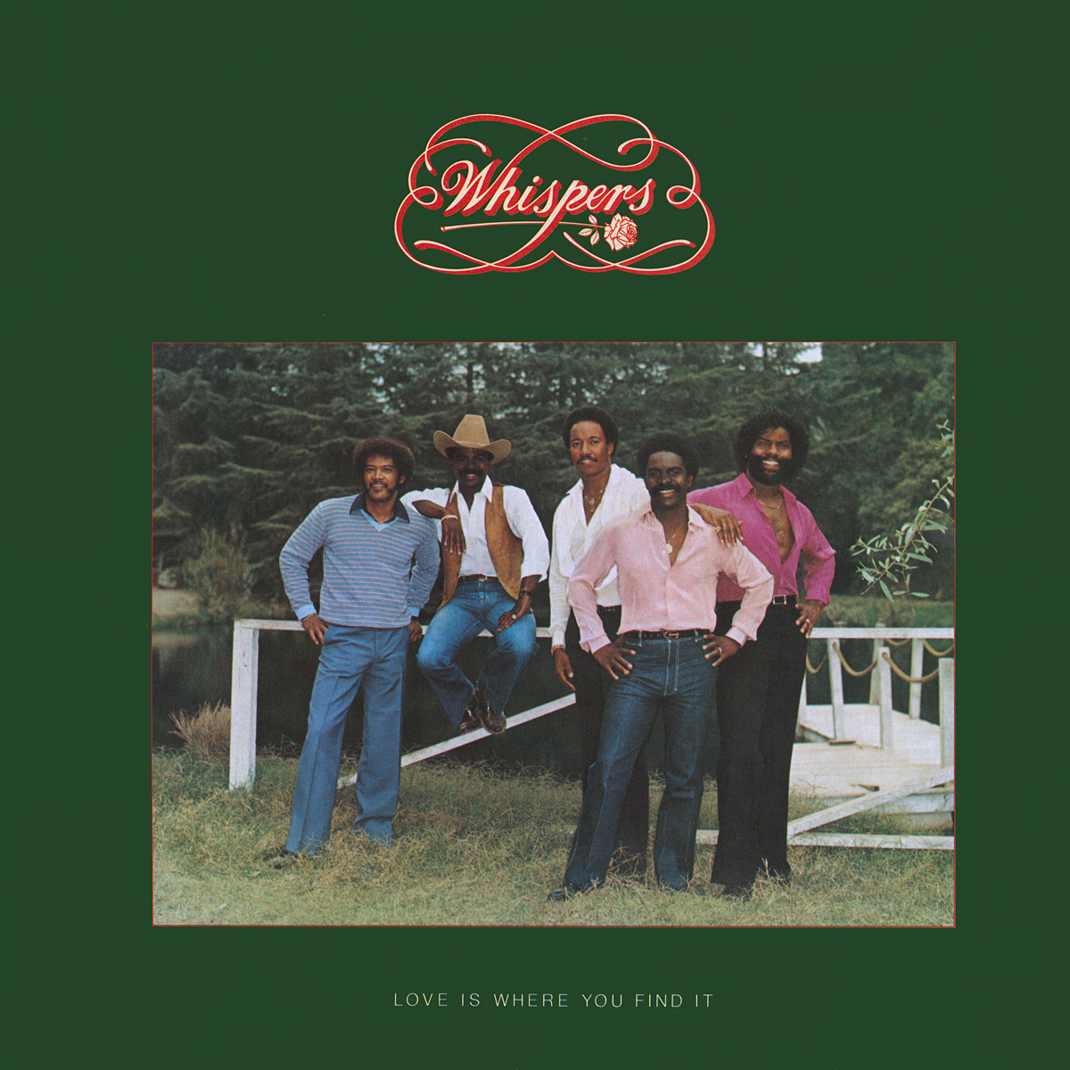 The Whispers Love Is Where You Find It Vinyl Album